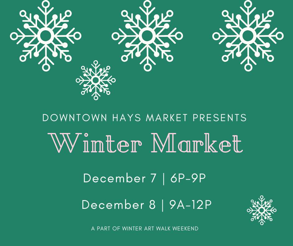 Downtown Hays Winter Markdet