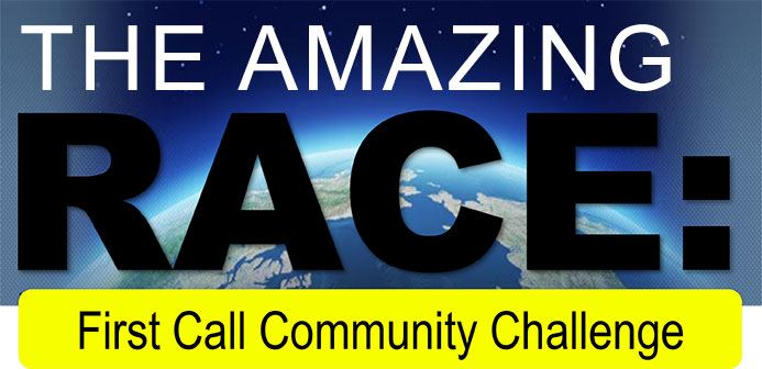 The Amazing Race First Call Community Challenge 2019