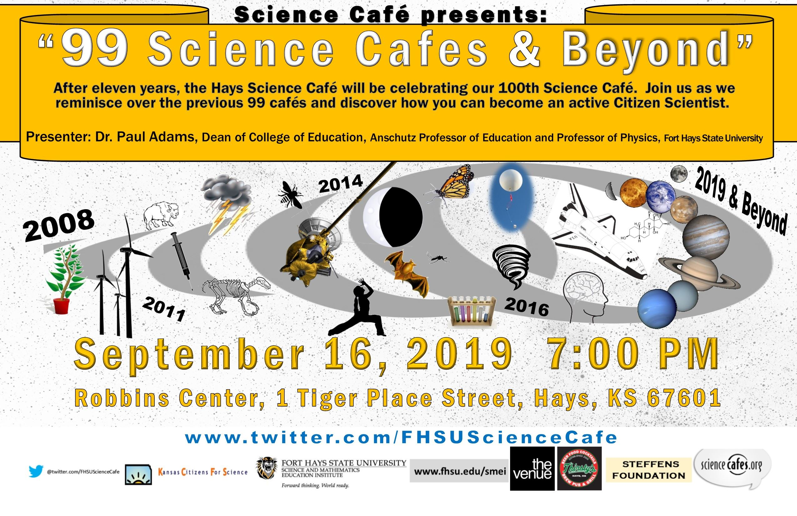 100 Science Cafe Sept 2019