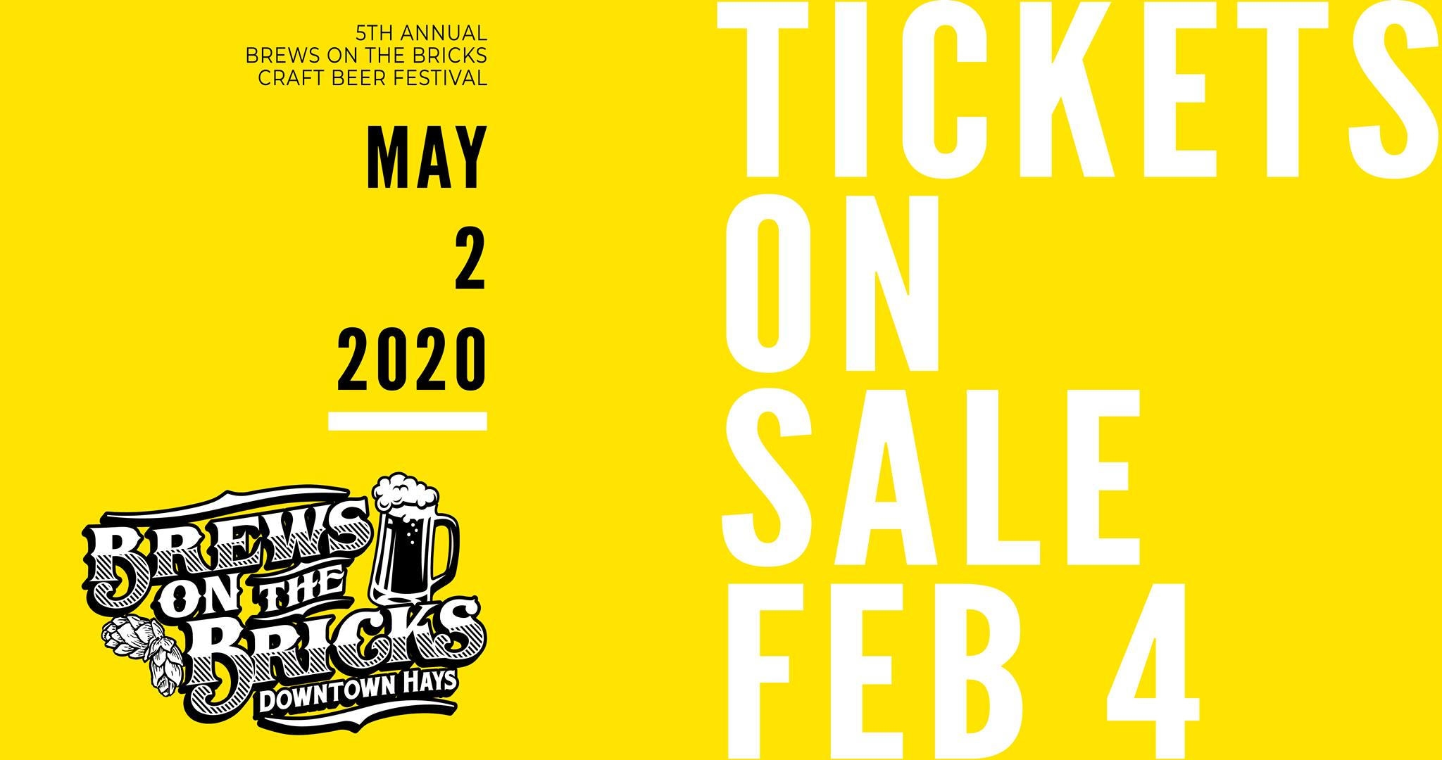 Tickets on Sale for Brews on the Bricks
