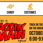 Trick or Treat on the Bricks 2020