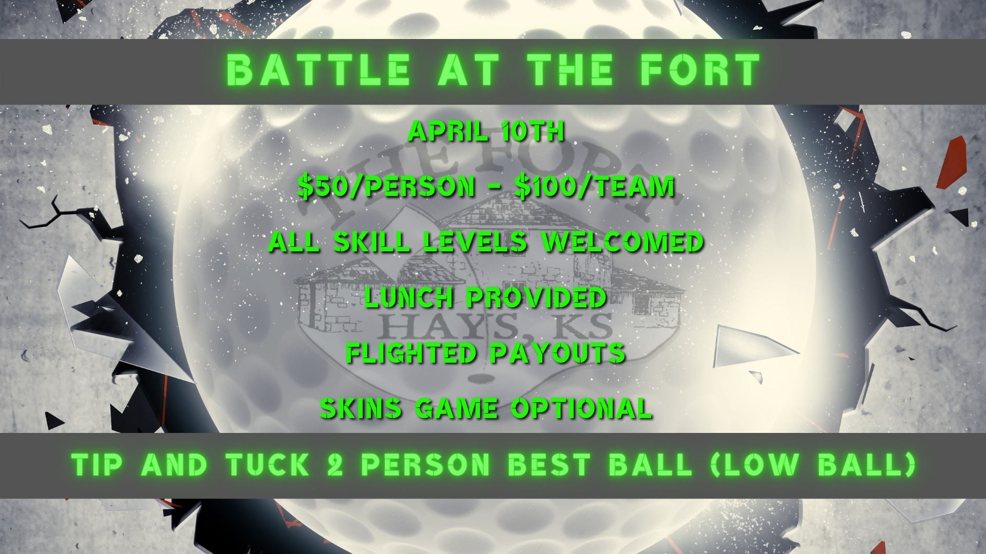 Tip and Tuck Battle at the Fort 2021